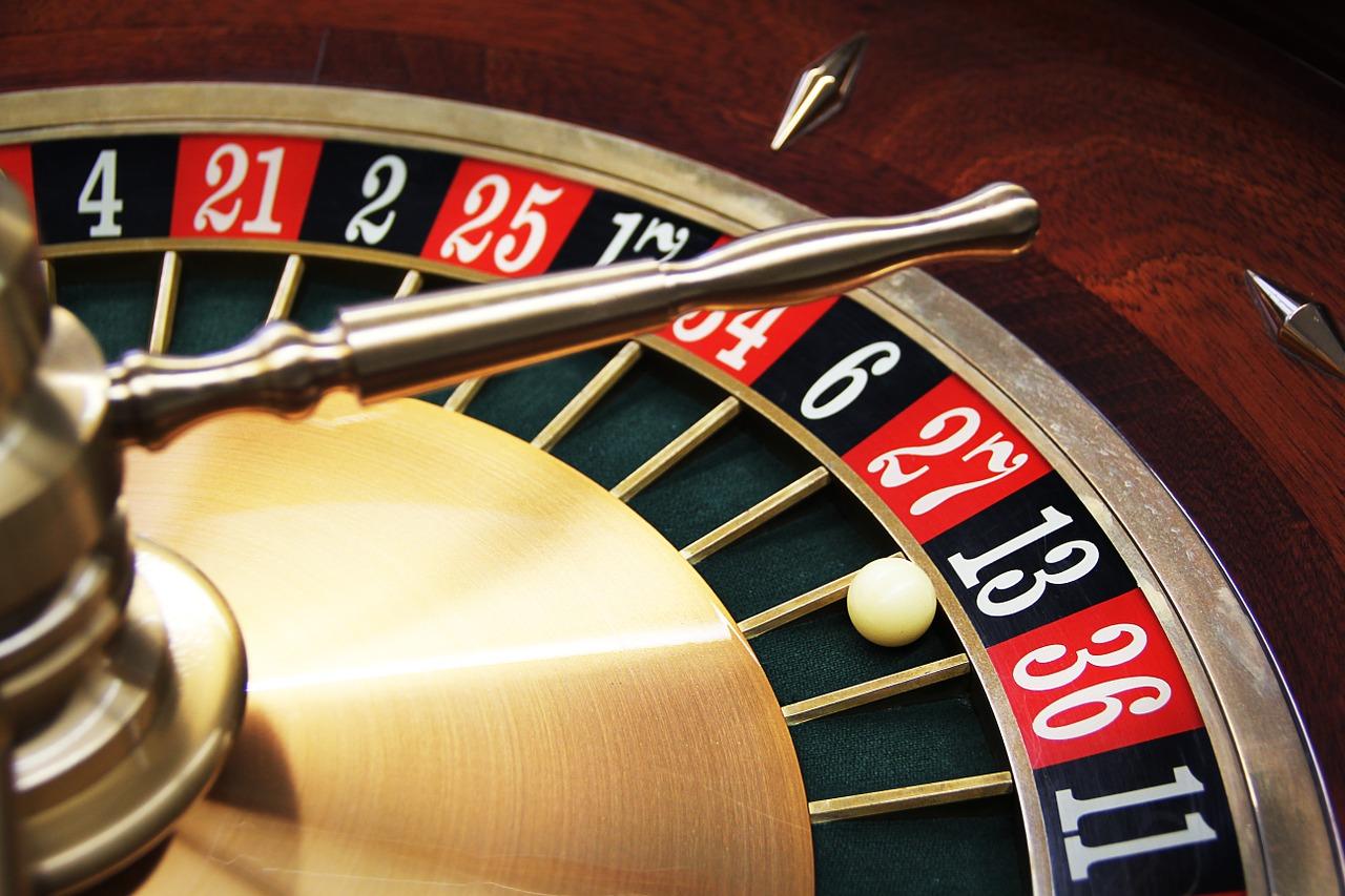 Das Bild zeigt ein Roulette.