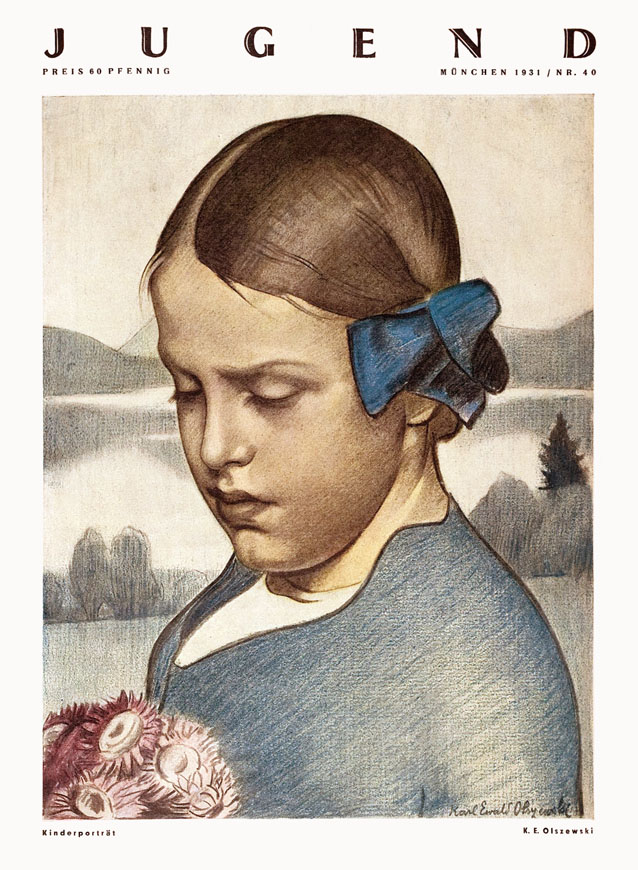 Das Bild zeigt ein junges Mädchen.