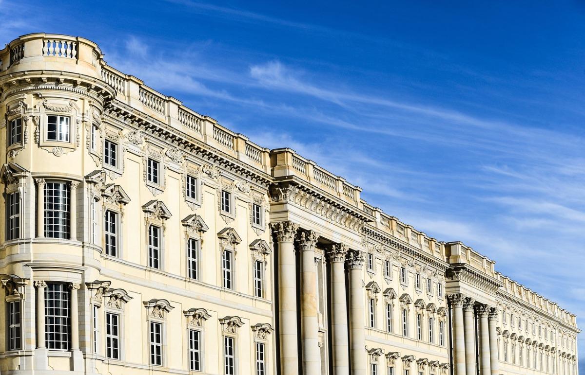 Das Bild zeigt das Stadtschloss in Berlin.